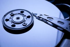 Hard disk. Stock Photo