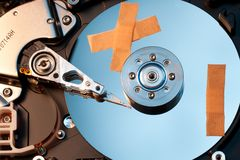 Hard disk Stock Image