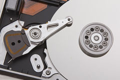Hard disk. Hardware for Data storage and pec Stock Images