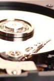 Hard disk. And plate rotation Stock Photo