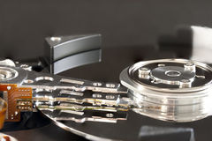 Hard Disk Actuator Arm Royalty Free Stock Images