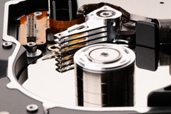 Hard disk backround Stock Photography