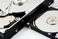 Hard Disk and Book Stock Images