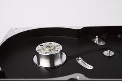 Hard disk case with rotor Royalty Free Stock Images