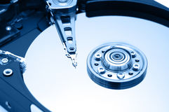 Hard Disk Closeup 1 Royalty Free Stock Photography