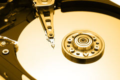 Hard Disk Closeup 1 Royalty Free Stock Photos