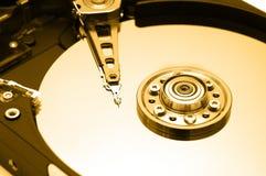 Hard Disk Closeup 1 royalty free stock photos