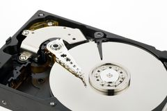 Hard disk of a computer Royalty Free Stock Photos