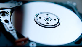 Hard disk of computer Royalty Free Stock Image
