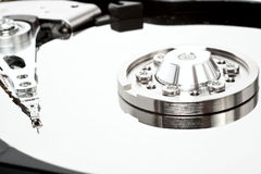 Hard disk without cover Stock Images