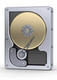 Hard Disk 3d Stock Image