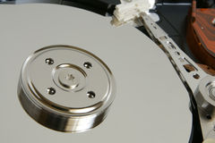 Hard disk detail Royalty Free Stock Image