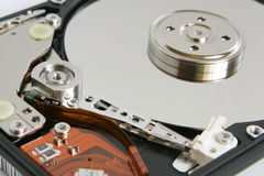 Hard disk detail Stock Image