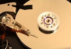 Hard disk detail image Royalty Free Stock Image