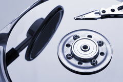 Hard disk details Royalty Free Stock Photo