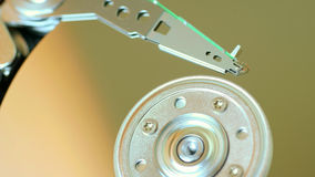 Hard disk disc background technology Stock Image