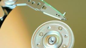 Hard disk disc background technology Stock Image
