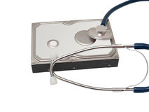 Hard disk doctor Stock Images