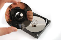 Hard disk drive Royalty Free Stock Image