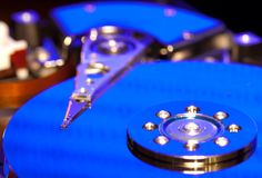 Hard disk drive Stock Image