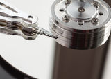 Hard disk drive. Royalty Free Stock Photos