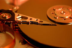 Hard disk drive. Background possible to use for printing and project Royalty Free Stock Images