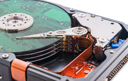 Hard disk drive. Royalty Free Stock Photography