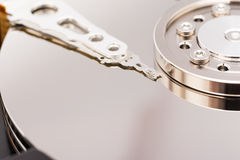 Hard Disk Drive Close Up Royalty Free Stock Photography
