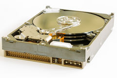 Hard Disk Drive for a Computer Royalty Free Stock Photo
