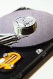 Hard disk drive into computer Royalty Free Stock Images
