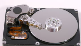 Hard disk drive stock video footage