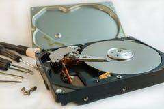 Hard disk drive, data storage device Stock Photos