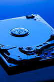 Hard disk drive detail. Background can use the Internet, print advertising and design Royalty Free Stock Images