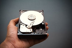 Hard disk drive HDD Royalty Free Stock Photos
