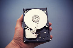 Hard disk drive HDD Stock Photo
