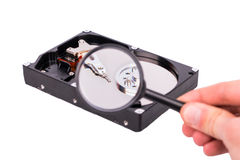 Hard disk drive (HDD) Stock Photo