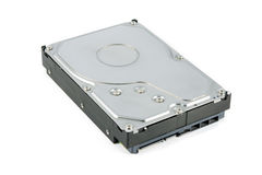 Hard disk drive (HDD) isolate Royalty Free Stock Photography