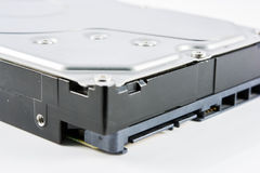 Hard disk drive (HDD) isolate Stock Photo