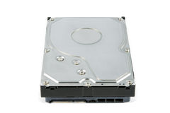 Hard disk drive (HDD) isolate Stock Photos