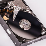 Hard disk drive HDD isolated on white background Royalty Free Stock Photography