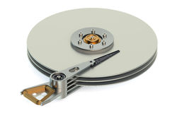 Hard Disk Drive (HDD) view inside Stock Image