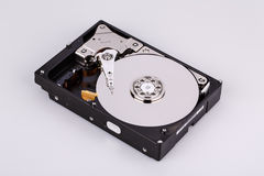 Hard disk drive HDD  on white background Royalty Free Stock Image