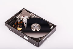 Hard disk drive HDD  on white background Stock Images