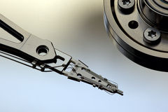 Hard disk drive head Royalty Free Stock Photo