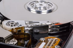 Hard disk drive head Royalty Free Stock Photography