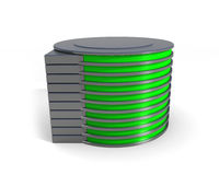 Hard disk drive icon Royalty Free Stock Photo