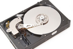 Hard disk drive inside Royalty Free Stock Images