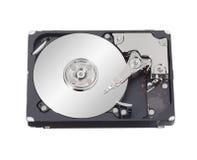Hard disk drive inside Stock Photo