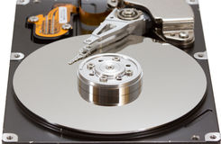 Hard disk drive inside Royalty Free Stock Image