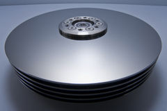 Hard Disk Drive Inside Parts Royalty Free Stock Photography